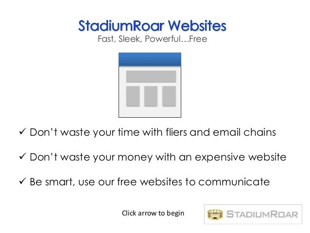 Fast, Sleek, Powerful…Free Don't waste your time with fliers and email chains Don't waste your money with an expensive w...