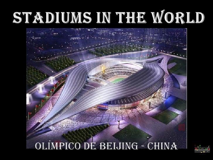 Stadiums In The World-football