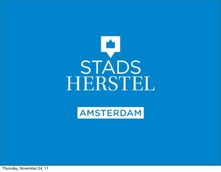 Stella van Heezik (Stadsherstel) over het schooltje van Dik Trom