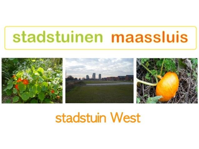 stadstuin West