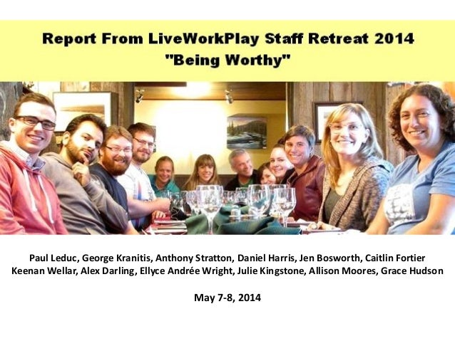 Paul Leduc, George Kranitis, Anthony Stratton, Daniel Harris, Jen Bosworth, Caitlin Fortier Keenan Wellar, Alex Darling, E...