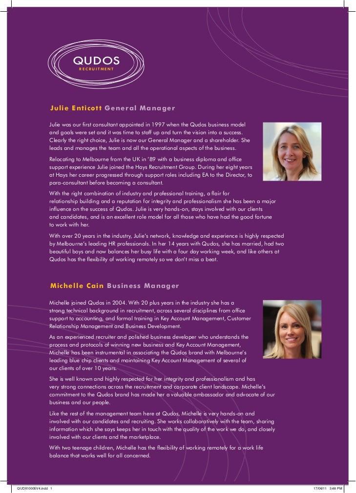 Staff Biographies