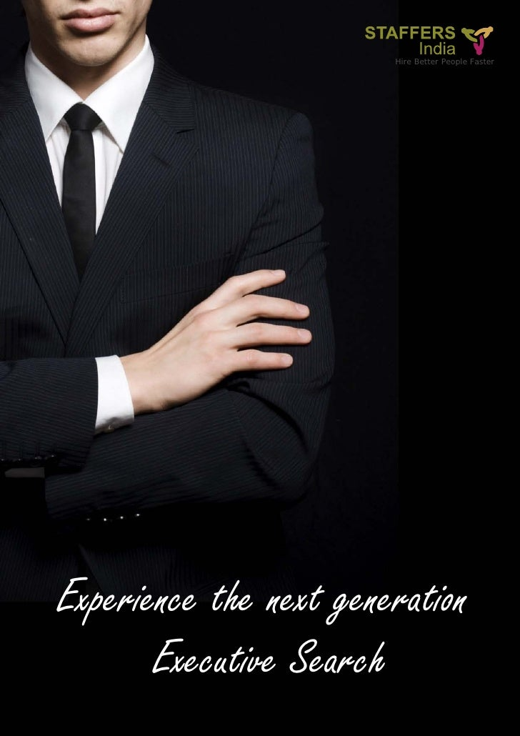 Hire Better People FasterExperience the next generation       Executive Search