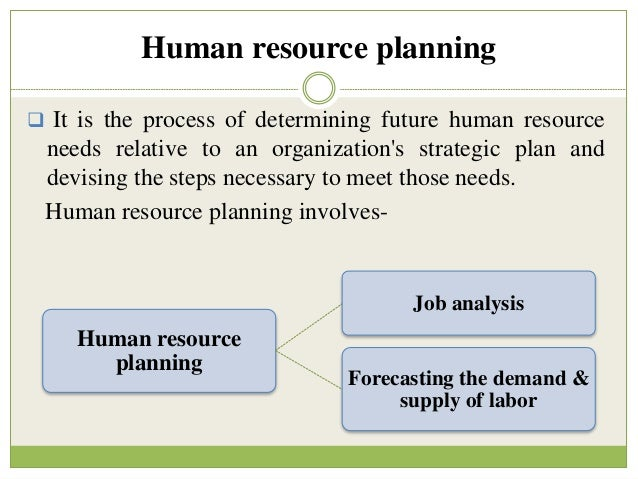 five steps in human resource planning Read this essay on five points of human resource planning come browse our large digital warehouse of free sample essays get the knowledge you need in order to pass your classes and more.