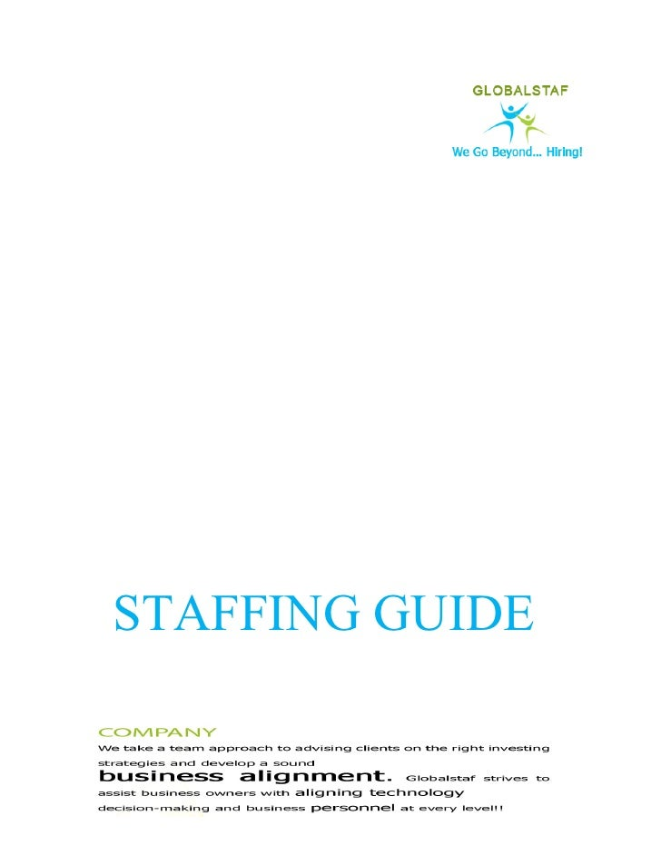 STAFFING GUIDE