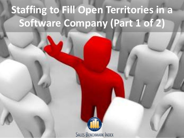 Staffing to Fill Open Territories in aSoftware Company (Part 1 of 2)