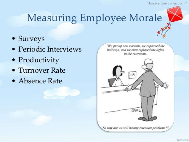 staff morale and motivation