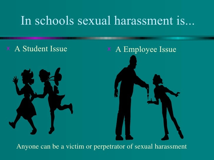 evolution of sexual harassment in the Does sexual harassment an associate professor at the university of oregon school of law who tracked and analyzed the evolution of sexual harassment trainings.