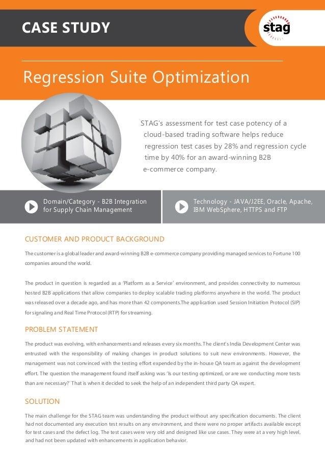 Regression Suite Optimization