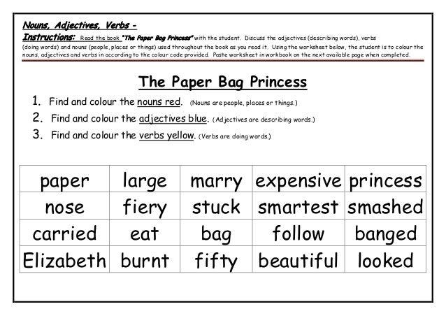 Stage 1 language unit the paper bag princess - whole document