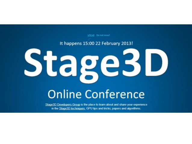 How to start with Stage3D?