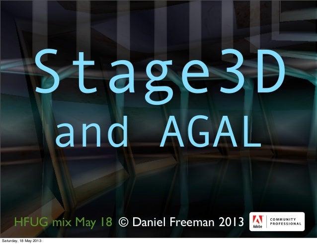 © Daniel Freeman 2013Stage3Dand AGALHFUG mix May 18Saturday, 18 May 2013