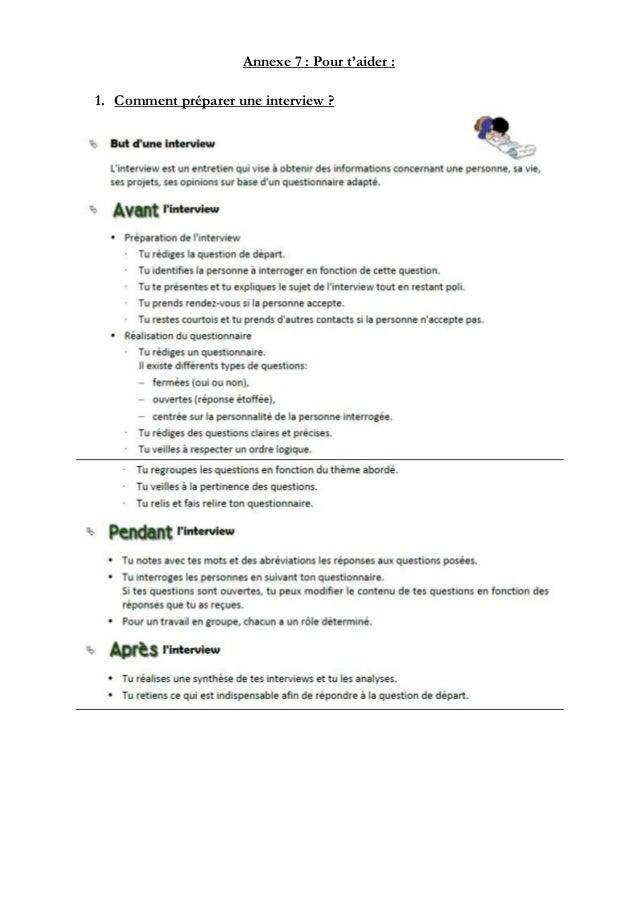 Stage 3e - Grille evaluation entretien d embauche ...