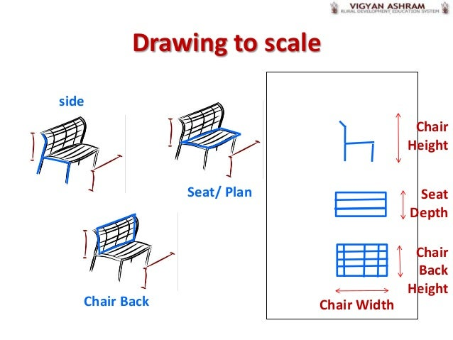 Chair Construction Drawings Drawing to Scaleside Chair