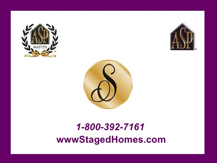 Staged Homes Benefits Shc Version