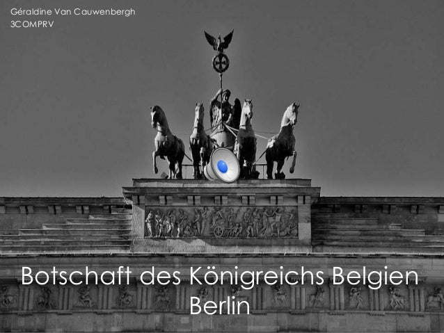 Internship at the Belgian Embassy in Berlin