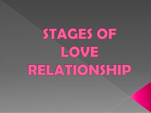 Stages in Love Relationship