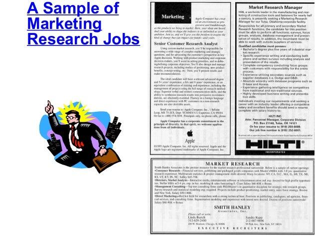 Marketing research marriott