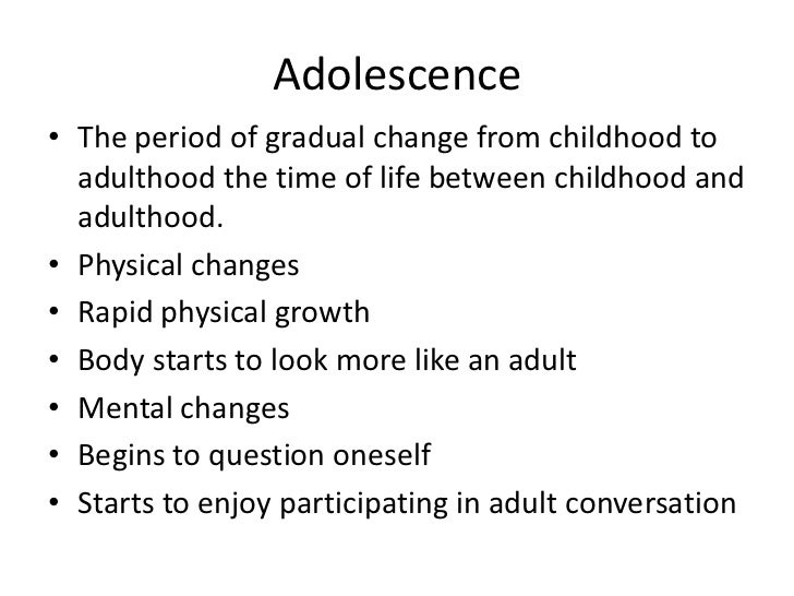 developmental puberty and earliest development In addition to physical signs of sexual development, puberty also involves psychological (emotional) and social development,  in early adolescence,.