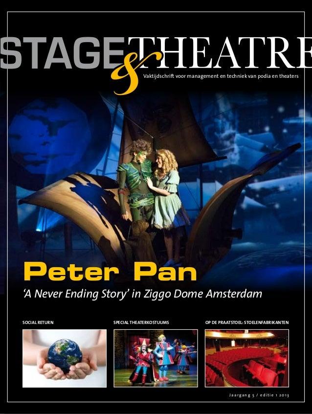 Vaktijdschrift voor management en techniek van podia en theatersPeter Pan'A Never Ending Story' in Ziggo Dome AmsterdamSoc...