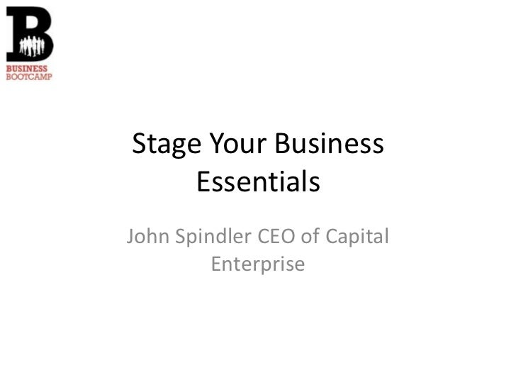 Stage Your Business Essentials