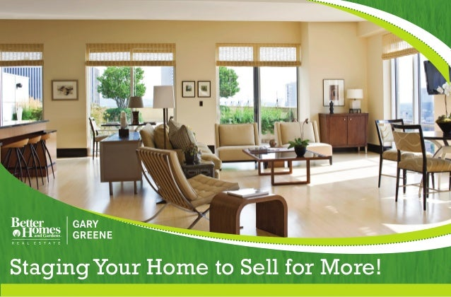 Staging Your Home To Sell For More