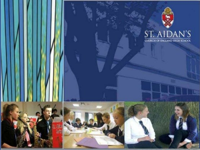 the history of st. Aidan's school • The foundation stone for the new St. Aidan's Church of England High School was laid on...