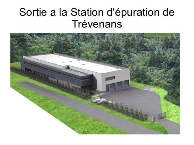 Sortie a la Station d'épuration de  Trévenans