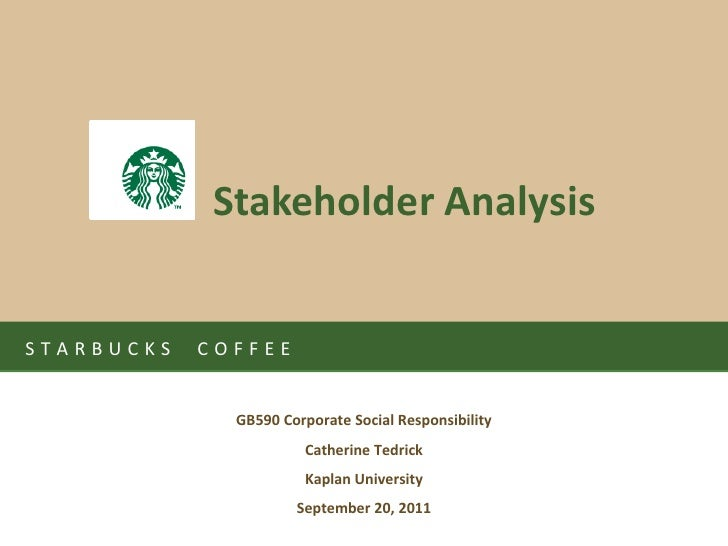 """starbucks stakeholder mapping """"starbucks record q3 revenues and profits once again reflect the underlying strength of the starbucks business"""" - scott maw, cfo."""