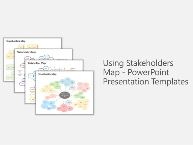 Stakeholders Map for PowerPoint Slides