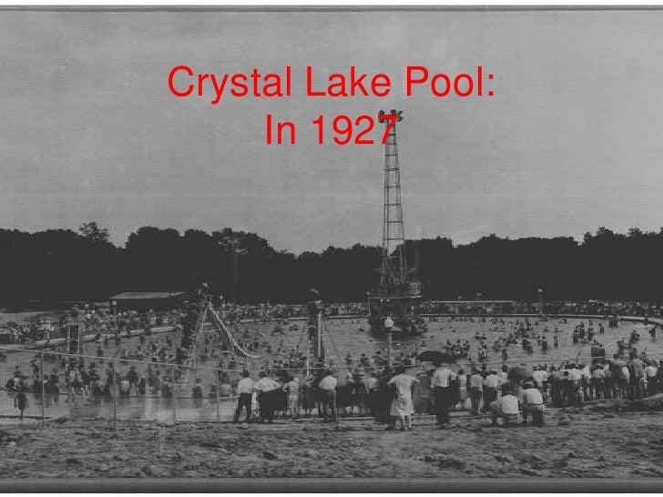 Urbana Park District Aquatics History