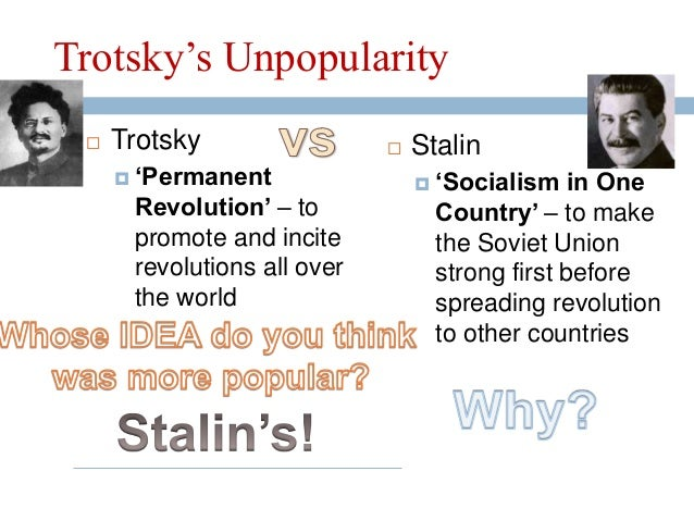 lenin and trotsky essay This essay will look at the actions of lenin lenin appeared to be a good leader and had war communism was policies that were needed for lenin and trotsky to.