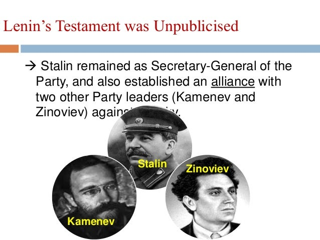 Essay on stalin