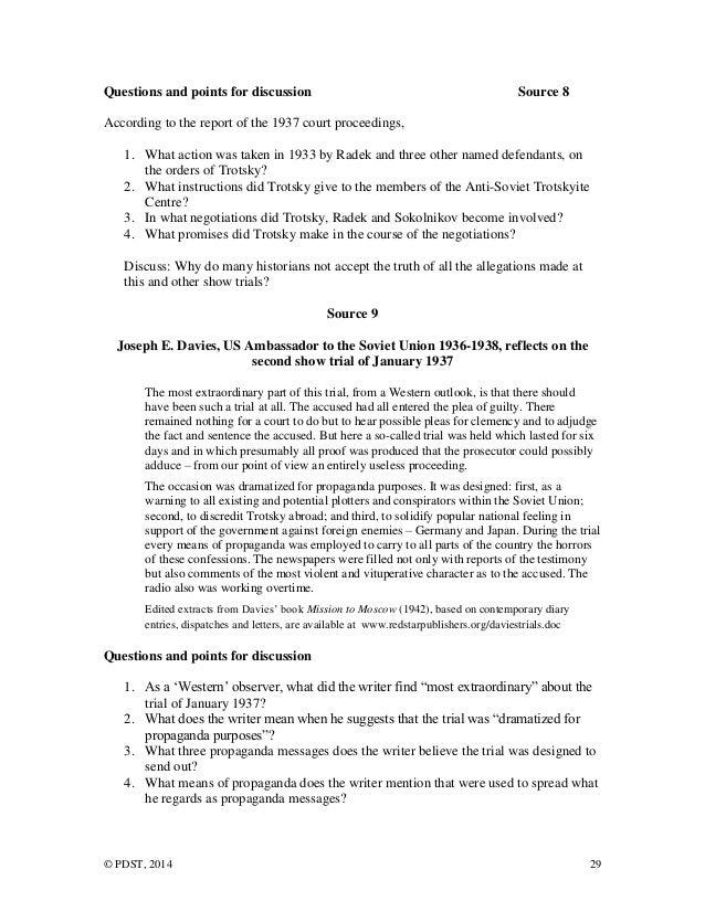 Joseph stalin essay
