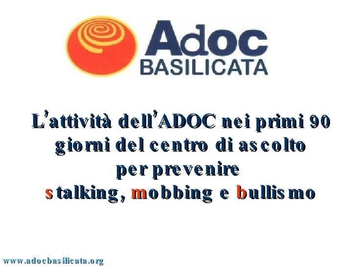 Stalking, Mobbing e Bullismo
