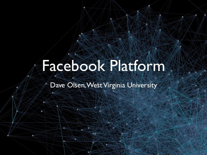 How to Leverage the Social Graph with Facebook Platform