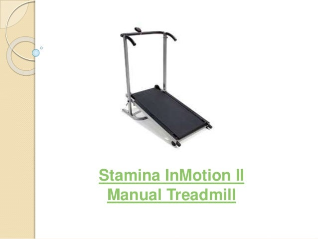 Stamina InMotion II Manual Treadmill