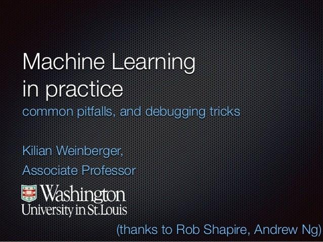 Making Machine Learning Work in Practice - StampedeCon 2014