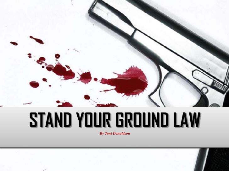 an analysis of stand your ground law April 9 (bloomberg law) -- contrary to many observers, walter olson, a senior fellow at the cato institute's center for constitutional studies, thinks florida's stand your ground law will have no effect on whether neighborhood watch captain george zimmerman is found guilty of killing trayvon martin.