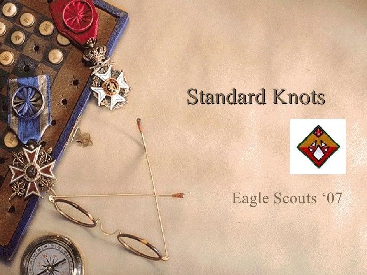 Standard Knots Eagle Scouts '07