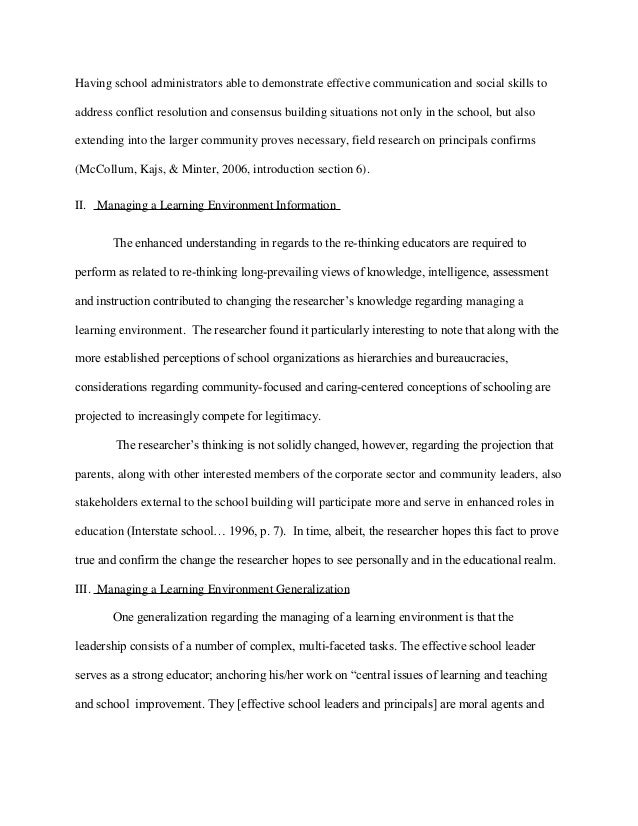 Conflict management example essay for scholarship