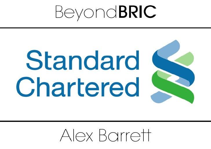 Standard Chartered Bank BeyondBRIC