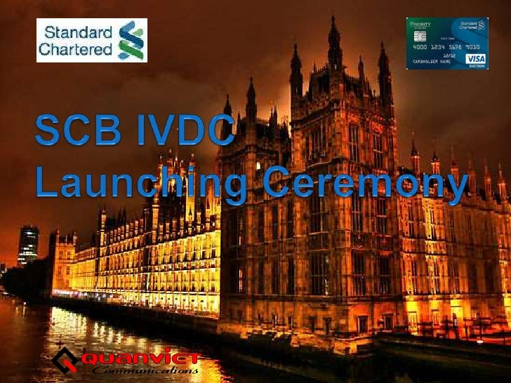 SCB IVDCLaunching Ceremony<br />