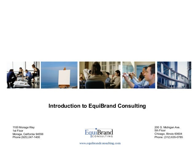Introduction to EquiBrand Consulting