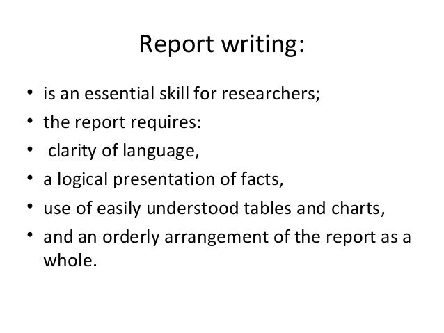 standard format for report writing 1 formal report writing in professional, technical and business contexts has evolved certain conventions regarding format, style, referencing and other characteristics.