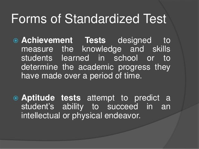 "should the standardized test be the only Only in education do we demonize teaching that accommodates the mandated high-stakes tests"" there's obviously a need for both teaching the skills necessary to succeed on tests, and preparing students to think and engage in learning."
