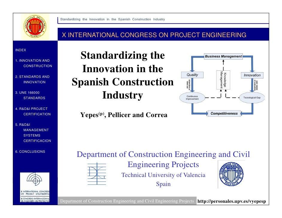 Standardizing The Innovation