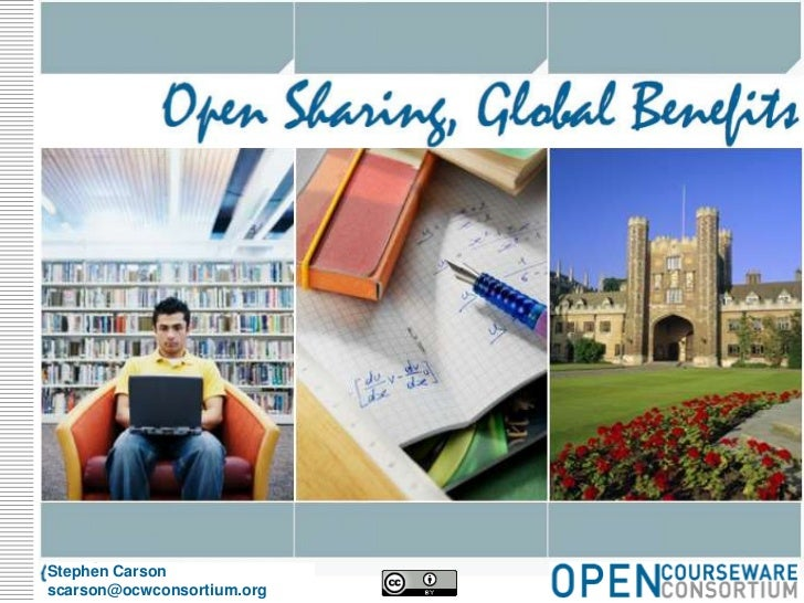 Open sharing, Global Benefits