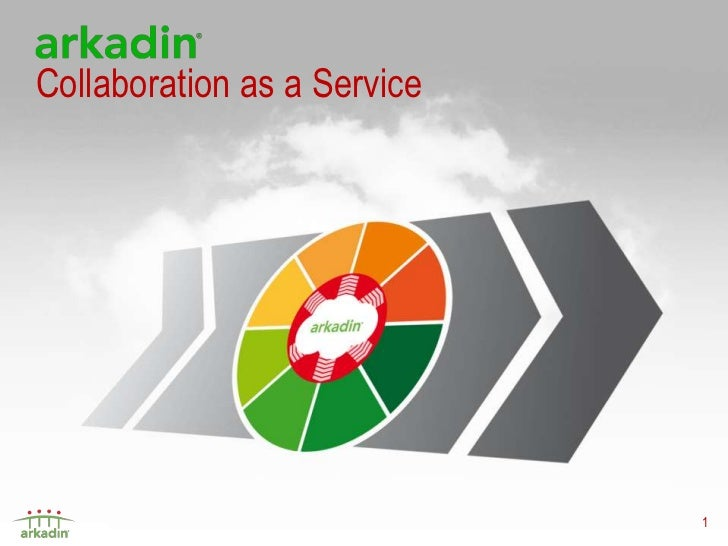 Collaboration as a Service                             1