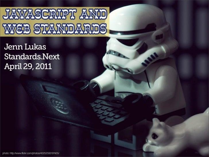 JavaScript and Web Standards